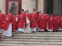 3139-00126 Don Flavio Placida e Don Davide Marino alla concelebrazione con il Papa